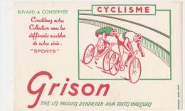 """Buvard Ancien"""" Grison""""Sports : Cyclisme - Sports"""