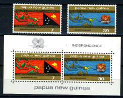 1975 - PAPUA & NEW GUINEA - PAPUA And NEW GUINEA - Yv. 295/296 + Blocs 1- MNH - (PG30032014...) - Papua Nuova Guinea