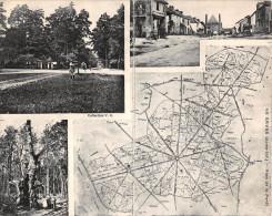 ¤¤  -   LE GAVRE   -  Rare , Carte Double   -  Carte De La Forêt , Vue Du Bourg   -  ¤¤ - Le Gavre
