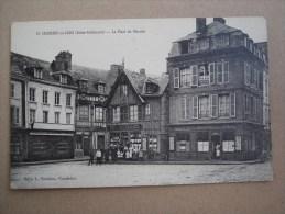 CPA 76 - CAUDEBEC EN CAUX - Place Du Marché (commerces...) - France
