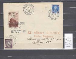 Lettre   Exposition Philatélique De La Gare Saint Lazare - Paris - 1942 - - Parcel Post