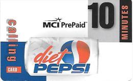 Prepaid: MCI - Pepsi-Cola Diet - Vereinigte Staaten