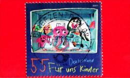 GERMANIA - 2011 - Per Noi Bambini - Acquario - 55 - Usados