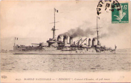 "Marine Nationale - ""Diserot"" - Cuirassé D'Escadre - Warships"
