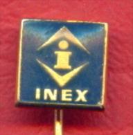 F2209 / I - INEX - Trademarks - Badge Pin - - Trademarks