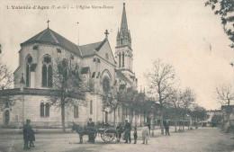 82.VALENCE D'AGEN EGLISE NOTRE DAME  ANIME - Valence
