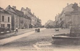 70 - Luxeuil-les-Bains - Faubourg Du Chêne. 1907 - Luxeuil Les Bains