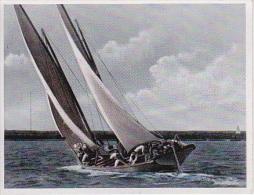 Unsere Reichsmarine - Bilder Aus Dem Leben Der Matrosen - Segelboot - Nr. 32 (2751) - Zigaretten