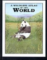 MINT NEVER HINGED SOUVENIR SHEET OF ANIMALS   ( LIBERIA  2185  0425