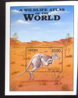 MINT NEVER HINGED SOUVENIR SHEET OF ANIMALS  #  0667-2 ( LIBERIA 2183  0320