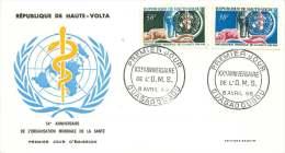 HAUTE VOLTA  20è Ann De L'Organisation Mondiale De La Santé  FDC - Obervolta (1958-1984)