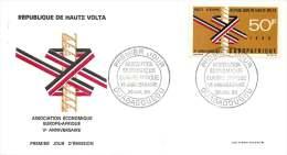 HAUTE VOLTA  1969  Europafrique  FDC - Obervolta (1958-1984)