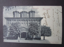 AK BUCURESTI Mondschein 1904 ////  D*11766 - Rumänien