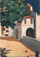 """LE PAYS BASQUE - Collection """"ROCHE"""" - Eglise De Bidart - Illustrateur Jeanne VIPELLE - Circulée 1941 - Bidart"""