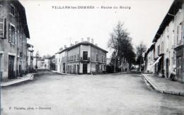 *01-  VILLARS-les-DOMBES - CPA -  Route Du Bourg TBE - Villars-les-Dombes