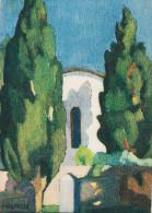 "LE PAYS BASQUE - Collection ""ROCHE"" - Eglise De Guéthary - Illustrateur Jeanne VIPELLE - Non Circulée - Guethary"