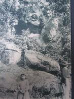 Saint junien 87 la glane pittoresque m�daillon de corot au grand livre cpa (pli�) haute vienne