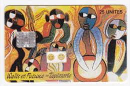 "WF7 - Tapisserie ""Pilioko"" (tirage 05 / 1995) - SC 7 - 25 U - Luxe - Wallis And Futuna"