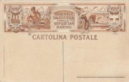 Cartolina Postale, Ospedale Da Guerra Della Rep. Di San Marino. F.P. Non Viagg. Inizio Secolo - San Marino
