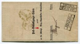 1864 Poststelle Breslau Oberschl. Bahnh. Type I Nach Beuthen - Preussen (Prussia)