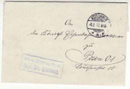 POLAND / GERMAN ANNEXATION 1917  LETTER  SENT FROM  KOZMIN TO POZNAN - ....-1919 Übergangsregierung