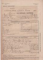 ^ NOVI LIGURE GENOVA PESCI GROSSO FANTERIA FOGLIO MATRICOLARE DOCUMENTO MILITARE 25 - Documenti