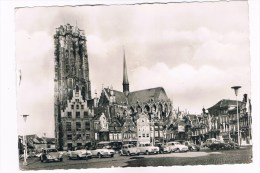 B4959    MECHELEN : Hoofdkerk St Rombout En Grote Markt - Mechelen