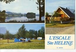 """CP73821 - Ste HELENE Du Lac - A Proximité De Montmélian, """"l'Escale Camping"""" - France"""