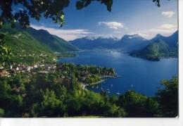 CP741130 - Le Lac D'Annecy Et  La Baie De Talloires - Talloires