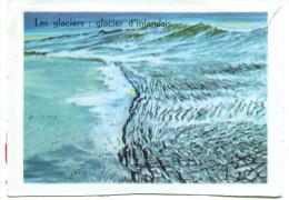 Image Bon Point :  Les Glaciers, Glacier D'Inlandsis - Vieux Papiers