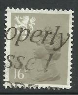 SCOTLAND GB 1983 QE2 16p Drab Machin T2  SG S 42... ( C268 ) - Regional Issues
