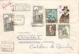 História Postal. Filatelia. Carimbo Ambulância Leste. España. - Postal Services