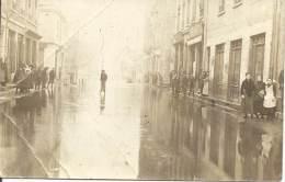 Carte Photo - Inondations En Ville - Non Située - Inondations