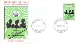 MALI  1971  Journée Internationale De L'Alphabétisation  FDC - Mali (1959-...)