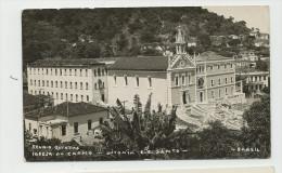 CPA BRESIL - VITORIA E.R. SANTO - Igreja Do Carmo - TB Plan De L'Edifice - Vitória