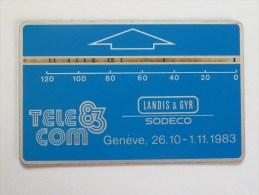 SWITZERLAND - L&G - Geneve Tel 83 Demo - Very Rare In Used Condition (SW39) - Svizzera