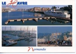 Le Havre Normandie Multivues - Bassin Port De Plaisance Front De Mer (photo Dévé éd Combier) - Non Classés