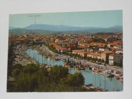 RIMINI - Panorama Del Porto Canale - Sullo Sfondo San Marino - Rimini