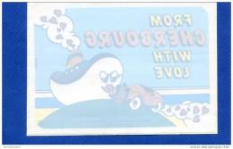 Autocollant Pour Vitre : CHERBOURG - Voiture - Bateau (chambre De Commerce Et D´industrie) - Stickers