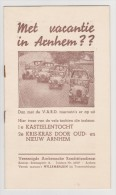 Brochure / Broschüre Met Vacantie In Arnhem?? 1935 - Tourism In Arnhem - Boeken, Tijdschriften, Stripverhalen