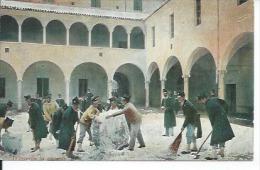 567-8 - D'INVERNO IN CASERMA  ( BON PLAN - ITALIE ? ) - Guerre 1914-18