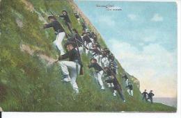953-1 - BERSAGLIERI - UNA SCALATA  ( BON PLAN - ITALIE ? ) - Guerre 1914-18