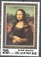 Korea North - 1986 L. Da Vinci Art Painting Gemalde -  Mi.2751  Used Gestempelt - Korea (Nord-)