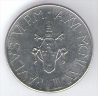 VATICANO 100 LIRE 1978 - Vaticano