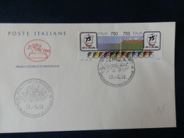 33/984A     FDC   ITALIE - Ciclismo