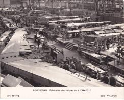 ¤¤   -   BOUGUENAIS  -  Cliché De SUD-AVIATION  -  Fabrication Des Voilures De La Caravelle  -  Voir Description   -  ¤¤ - Bouguenais