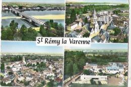 Z 1722  CPM    ST REMY LA VARENNE VUE AERIENNE MULTIVUE - Autres Communes