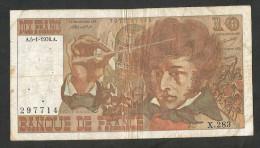 FRANCE - BANQUE De FRANCE - 10 FRANCS (1976) A.5 - 1 - 1976 - 1962-1997 ''Francs''