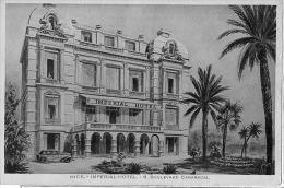 06 NICE  IMPERIAL Hôtel 8 Boulevard Carabacel Avec Publicité De L'hotel Au Verso - Cafés, Hotels, Restaurants