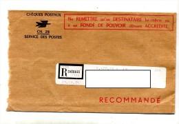 Lettre Recommande Lyon Cheques - Cachets Manuels